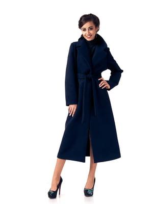 Пальто синє   5718137