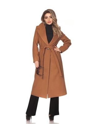 Пальто коричневое | 5718142