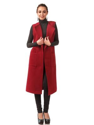 Пальто бордове | 5718157