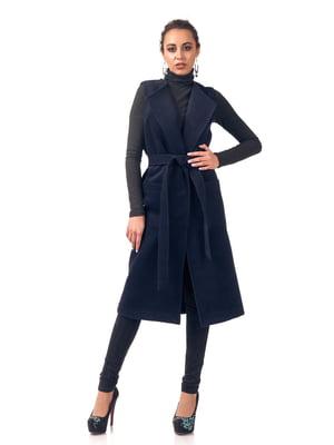 Пальто темно-синє   5718158