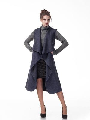 Пальто темно-синє   5718170