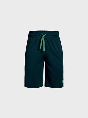 Шорты сине-зеленые | 5719550