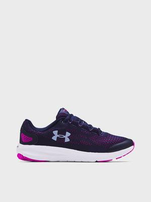 Кросівки фіолетово-рожеві UA GS Charged Pursuit 2 3022860-404 | 5719954