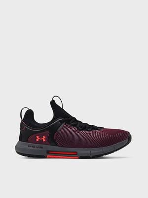 Кросівки чорно-бордові UA HOVR Rise 2 3023009-501   5719958