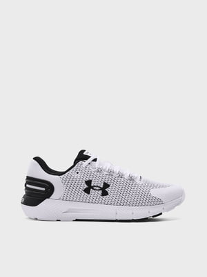 Кросівки біло-чорні UA Charged Rogue 2.5 3024400-101 | 5720003