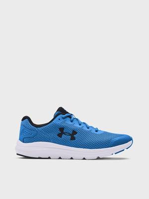 Кросівки блакитні UA Surge 2 3022595-404 | 5720044