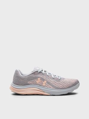 Кроссовки серо-розовые | 5720118