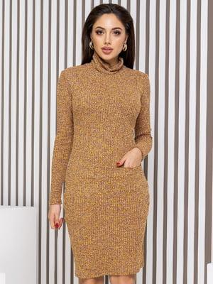 Платье горчичного цвета | 5718987