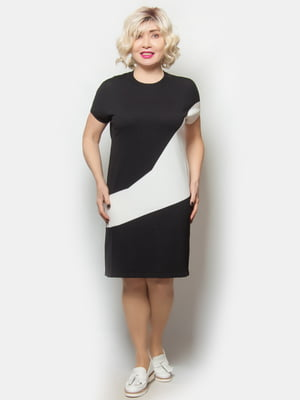 Сукня біло-чорна | 5720262