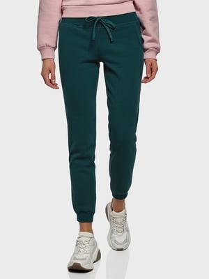 Штани спортивні зелені | 5721068