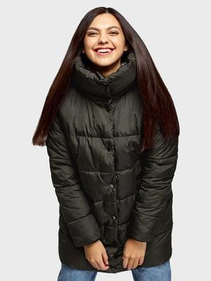 Куртка темно-оливкового цвета | 5721096