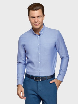 Сорочка блакитна | 5721140