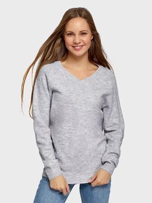 Пуловер серый | 5721161