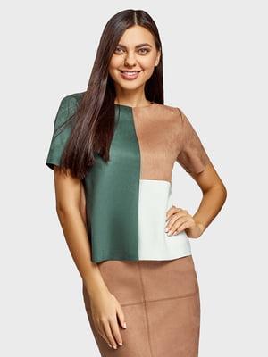 Блуза разноцветная | 5721320