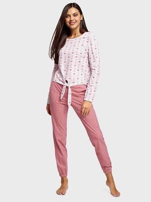 Пижама: лонгслив и брюки | 5721337