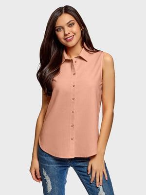 Блуза бежевая | 5721443