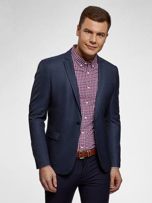 Пиджак темно-синий | 5721455