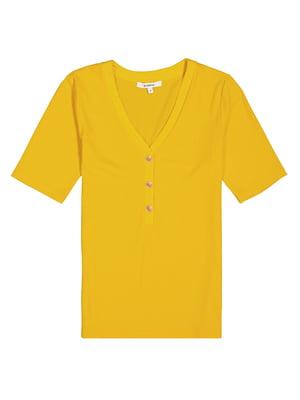 Футболка жовта | 5721995
