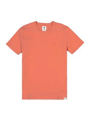 Футболка коралового кольору | 5722004