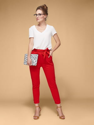 Штани червоні | 5721660