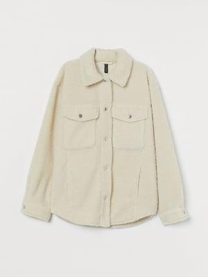 Куртка молочного цвета | 5722096
