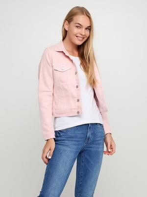 Куртка рожевого кольору | 5722153