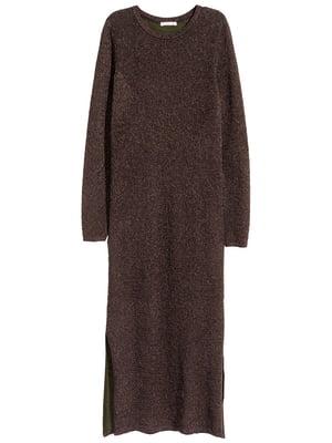 Платье коричневого цвета | 5722201