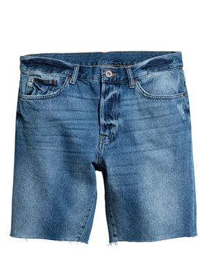 Шорты джинсовые синие | 5722257