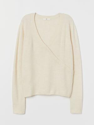 Пуловер молочного кольору | 5722267