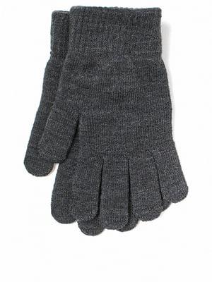 Перчатки серые | 5722281