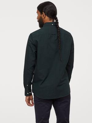 Рубашка зеленого цвета | 5722324