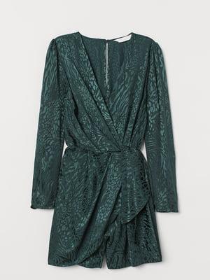 Комбинезон зеленого цвета с узором | 5722349