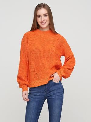 Джемпер морквяного кольору | 5722383