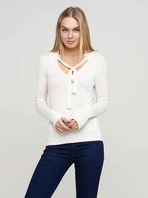 Пуловер молочного кольору | 5722396