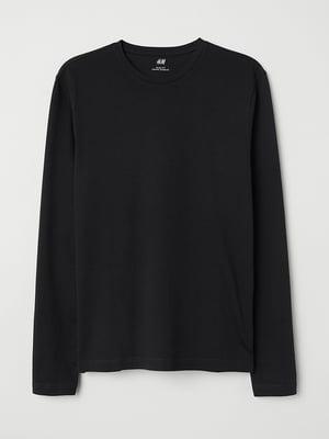 Лонгслив черный | 5722567