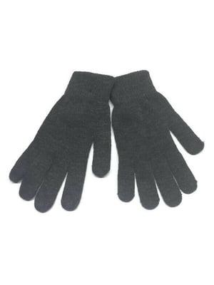 Перчатки серые | 5722572