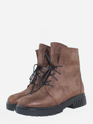 Ботинки коричневые   5676492