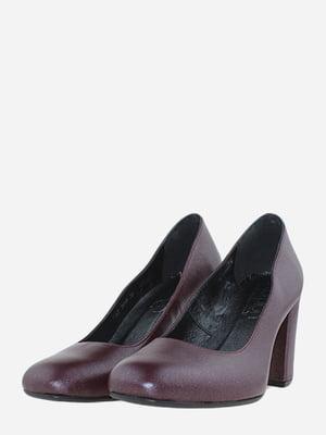 Туфли бордовые | 5716026