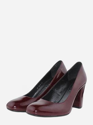 Туфли бордовые | 5716028