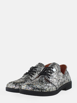 Туфлі сріблястого кольору | 5716037