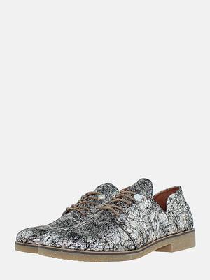 Туфлі сріблястого кольору | 5716038