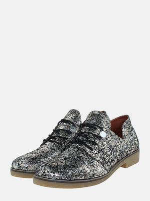 Туфлі сріблястого кольору | 5716039