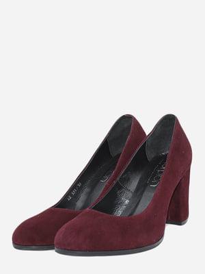 Туфли бордовые | 5718092