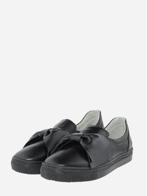 Мокасины черные   5720350