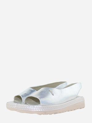 Босоніжки сріблястого кольору | 5725350