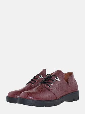 Туфлі бордові | 5725357