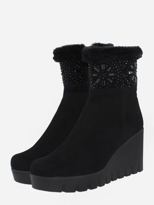 Ботинки черные   5725524