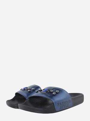 Шлепанцы синие | 5725604