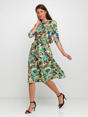 Сукня у квітковий принт   5725859