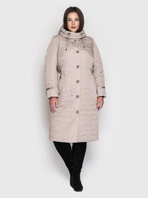 Пальто бежевое | 5725908
